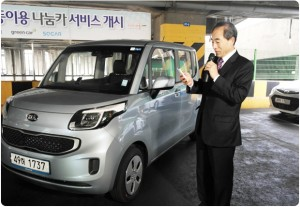 ソウル市のナヌムカーサービス、年末までに1,000台に拡大
