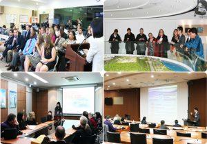 米名門大学の都市関連専門の大学院生たちがソウルについて学ぶ