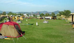ノウル(夕焼け)キャンプ場