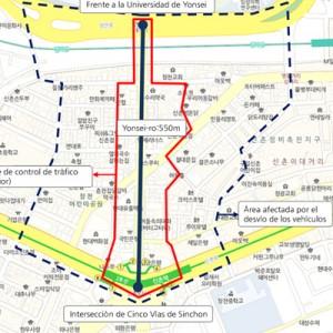 ソウル最初の公共交通専用地区「シンチョン(新村)・ヨンセロ」を開通