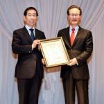 [朴元淳の希望日記478] 「ソウル市 法律消費者連盟賞を受賞」