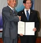 東京都知事とソウル市長会談(^◇^)