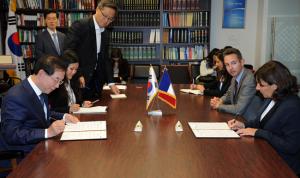 パク市長  「環境、エネルギー、都市開発、気候分野に関するMOU」を締結