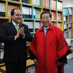 パク・ウォンスン(朴元淳)市長 パラグアイの首都アスンシオンの市長と交流・協力について協議