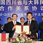 パク・ウォンスン(朴元淳)市長 中国3拠点都市「実事求是」歴訪