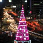 ソウル広場で「2014クリスマスツリー点灯式」