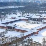 ソウルは一面雪景色?