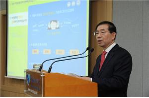 ソウル市 「朴元淳法」投資・出捐機関にも拡大
