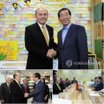 [朴元淳の希望日記536]イスタンブールのカディル・トプバシュ市長と面会