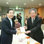 [朴元淳の希望日記564] ソウル市広報大使任命式