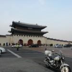 旧正月に景福宮に行きました。