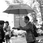 [朴元淳の希望日記] 冬の雨が降っています