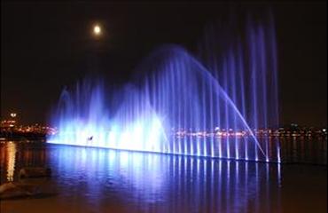 ナンジ(蘭芝)水遊び場噴水