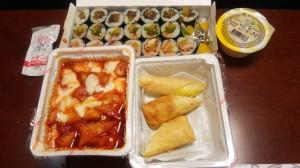 201409韓国 SCHOOL FOODでお持ち帰り♪
