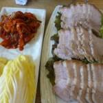 新村 고냉지さんでお昼の定食