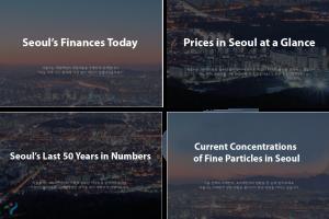 今日使われたソウル市の予算は? 「動くデータ」でチェック