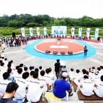 光州夏季ユニバーシアード大会2015開幕