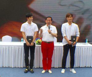 パク・ウォンスン(朴元淳)市長 中国人スターも引き連れてソウル観光PR