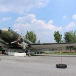 独立運動家が搭乗した航空機「C-47」 8月18日、ヨイド(汝矣島)公園で公開