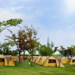 トゥクソム・ハンガン(漢江)キャンプ場