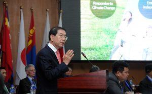 パク・ウォンスン市長 モンゴルで「北東アジア都市共同体」提案