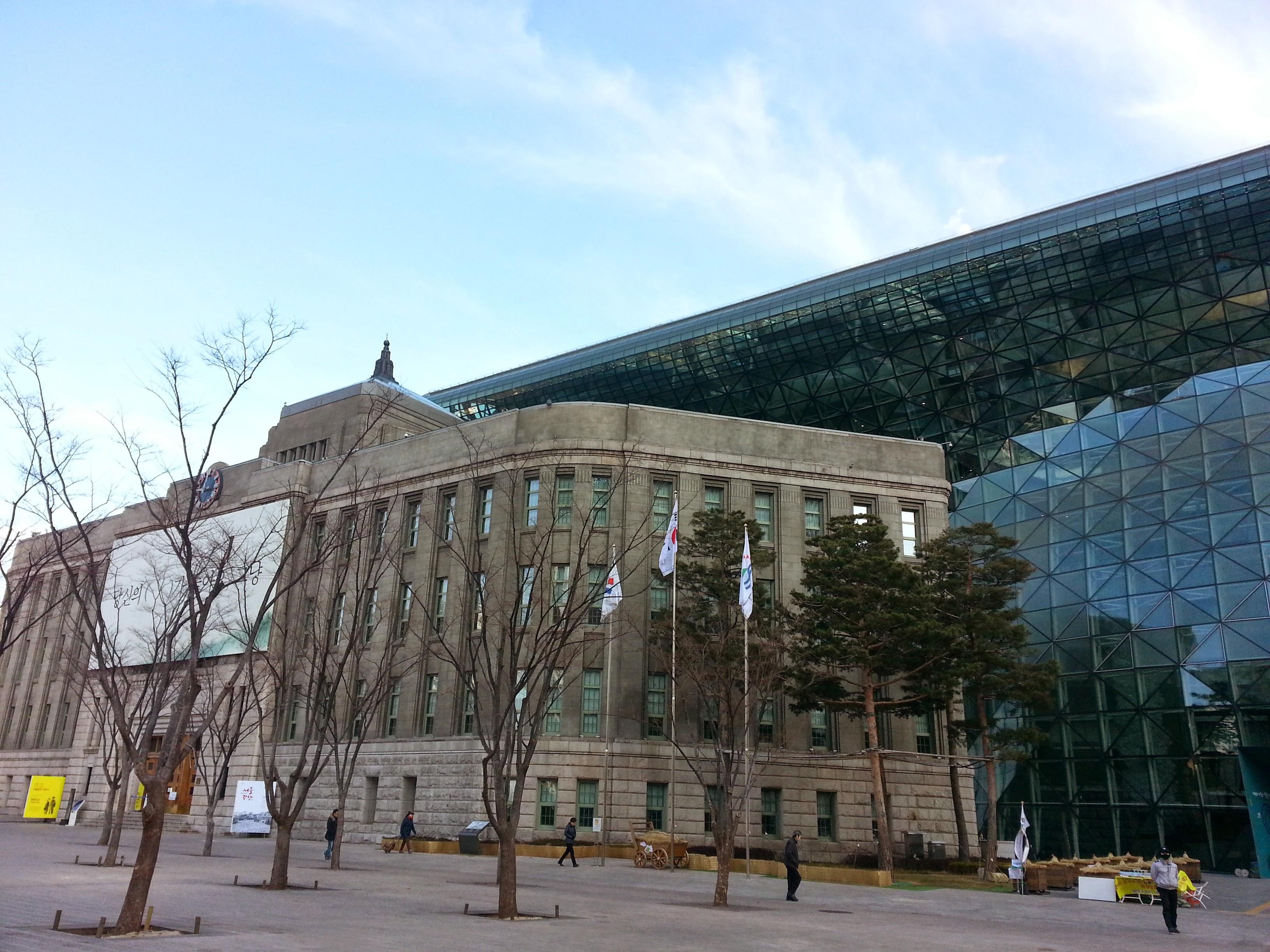 ソウル市庁舎に行ったことありますか?