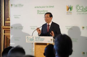 パク市長 仏パリで気候会議
