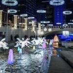 クリスマスシーズンの清渓川