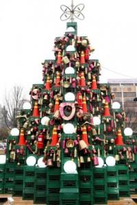 不要品がクリスマスツリーに変身(๑•̀ㅂ•́)و✧