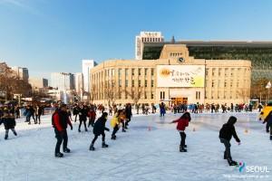 ソウル広場スケートリンク
