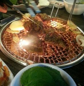 2016/01/16 seoul Travel Dinner