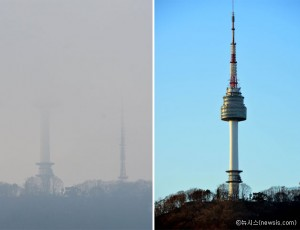 PM10予報 1月1日から「明後日」も追加