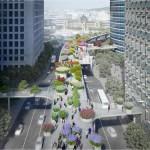 ソウル駅高架〜ナムサン(南山)公園をつなぐ歩道が誕生