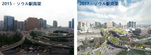 ソウル駅高架、「歩く道」として再生へ