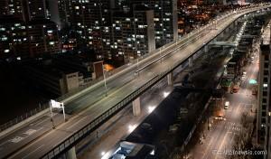 チョンルンチョン(貞陵川)高架道路、予定より二日早い19日に通行再開