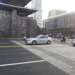 道路で途切れた漢陽都城、「痕跡」で繋ぐ