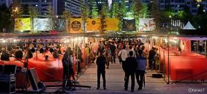 毎週末開催されるソウルパムトッケビナイトマーケット