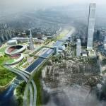 国際交流複合地区の造成に向けたチャムシル総合運動場一帯のマスタープラン発表