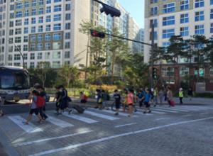 ソウル市、歩行時差制の施行で歩行信号システム改善