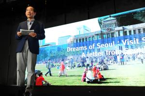 パク・ウォンスン市長、シンガポールのオピニオンリーダーにソウルをセールス