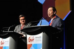 パク・ウォンスン市長、GSEF総会で「世界経済危機の解決策は社会的経済」