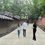 2017年に断絶された徳寿宮石垣道 100m 開放
