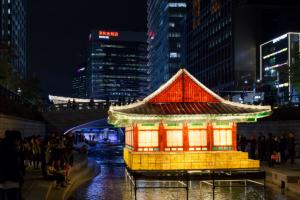 2016年「ソウル・ランタンフェスティバル」の開幕