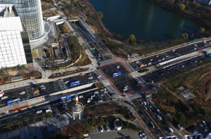 国内初ターミナル型チャムシル広域乗換えセンター運行開始