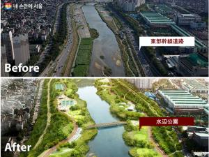 ソウル市、「中浪川中心、東北圏未来ビジョン」を発表