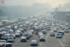 韓国固有の名節ソルラル(旧正月)連休を迎えて特別交通対策を施行