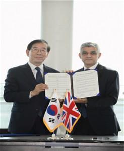 ソウル・ロンドン両革新市長、政策交流本格化へ
