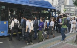 通勤カスタムバスで余裕をもって「タラムジバス」に乗ろう
