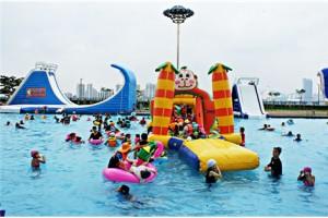 ハンガン(漢江)野外プール、6月23日オープン