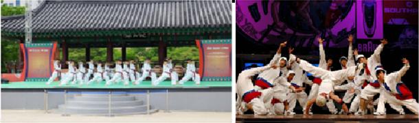K-Styleテコン(跆拳)舞とB-boy公演